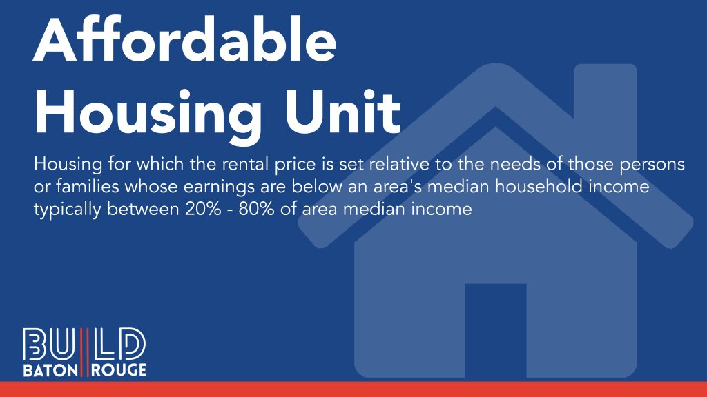 Affordable Housing Units