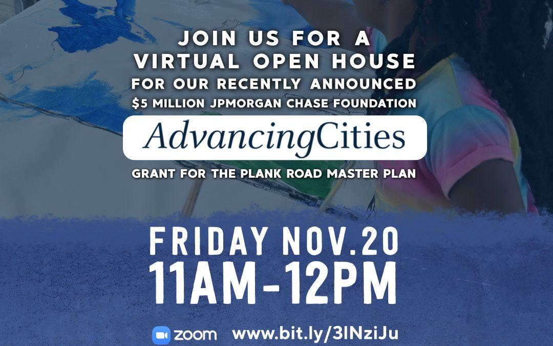 Virtual Open House AdvancingCities BR – November 20, 2020