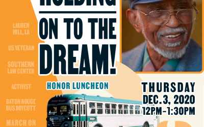 Honor Luncheon for Civil Rights Attorney Mr. Johnnie Jones, Sr.
