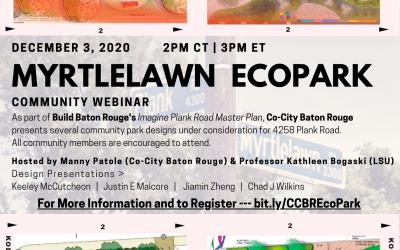 Myrtlelawn EcoPark Community Webinar