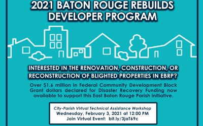 2021 Baton Rouge Rebuilds Developer Program Application