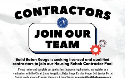 Build BR Seeking Qualified Home Rehab Contractors